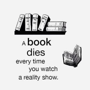 6b books dies when you watch TV