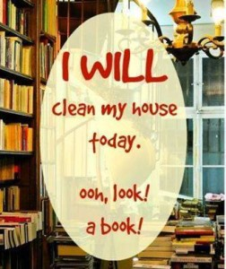 6d clean my house--oh a book!